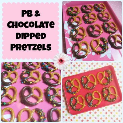 pretzel collage