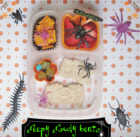 creepy crawly bento