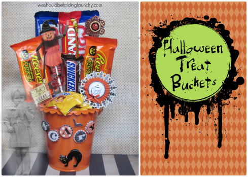 halloween treat bucket