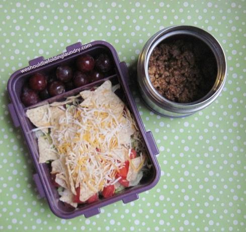taco salad bento