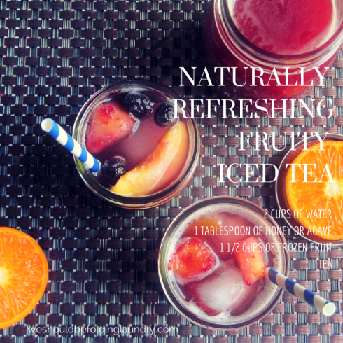 fruity iced tea