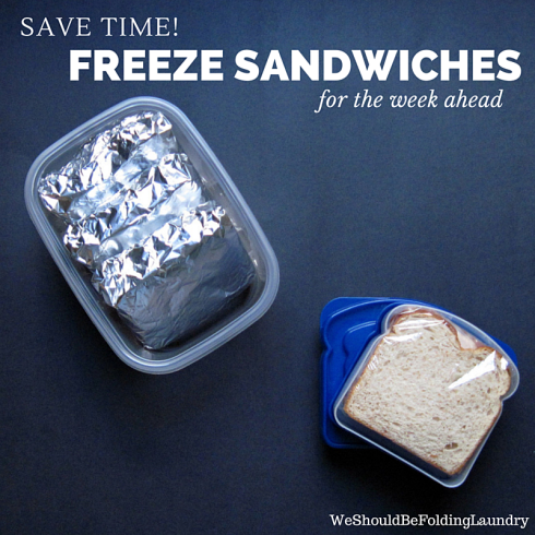 freezer sandwiches