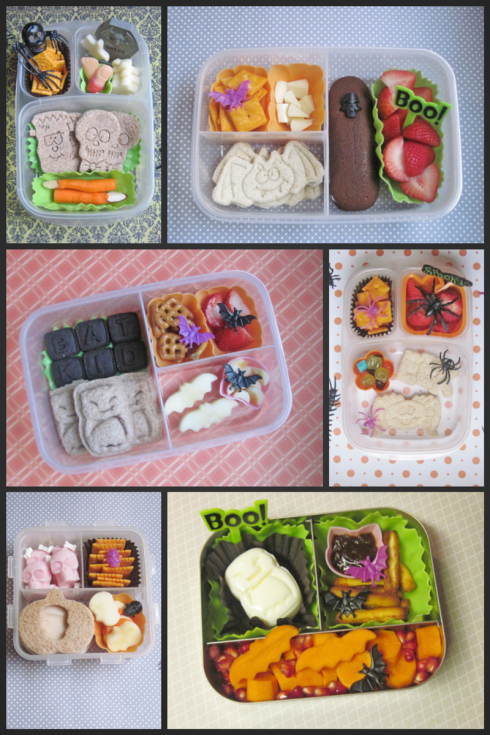 Halloween bento 2013 collage