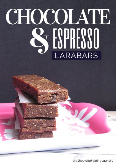 chocolate & espresso larabars