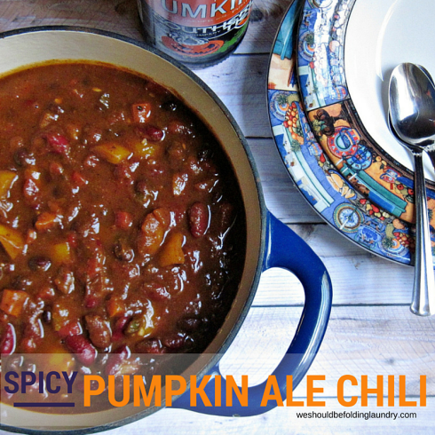 pumpkin ale chili