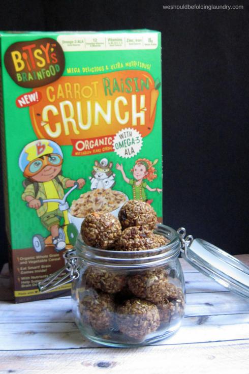 Bitsy's Brainfood Cereal Snack Bites