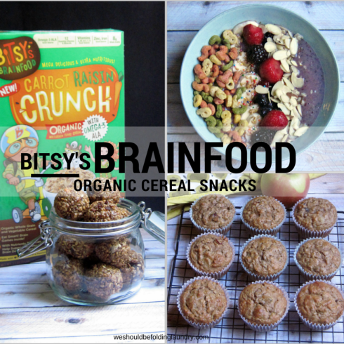 Kid-Friendly Snacks Made with Bitsy's Brainfood