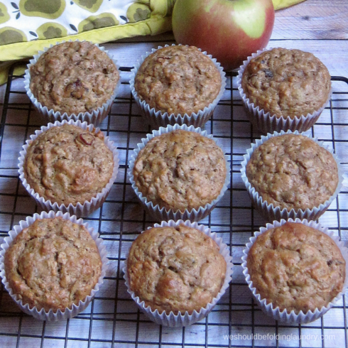 Hearty Breakfast Muffins made with Bitsy's Brainfood cereal