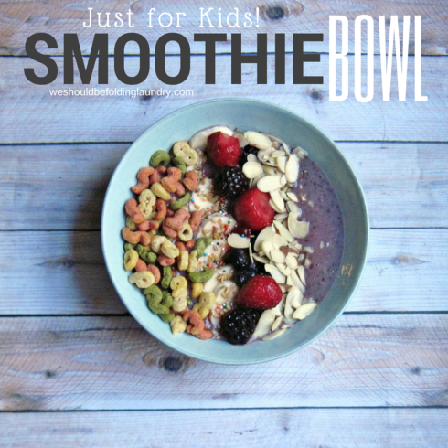 Bitsy's Brainfood Cereal Smoothie Bowl
