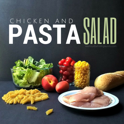 chicken & pasta salad