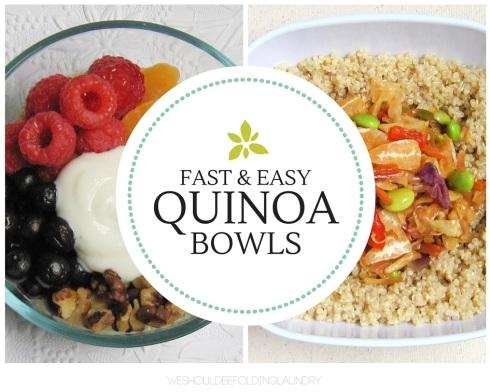 quinoa bowls